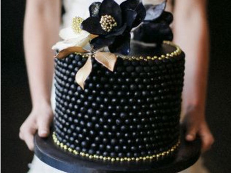 Bold, Beautiful Black Cakes
