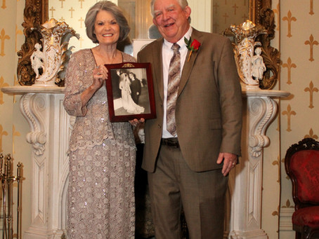 Shirley + Dillard - Celebrating 50 Years - Oaklands Mansion