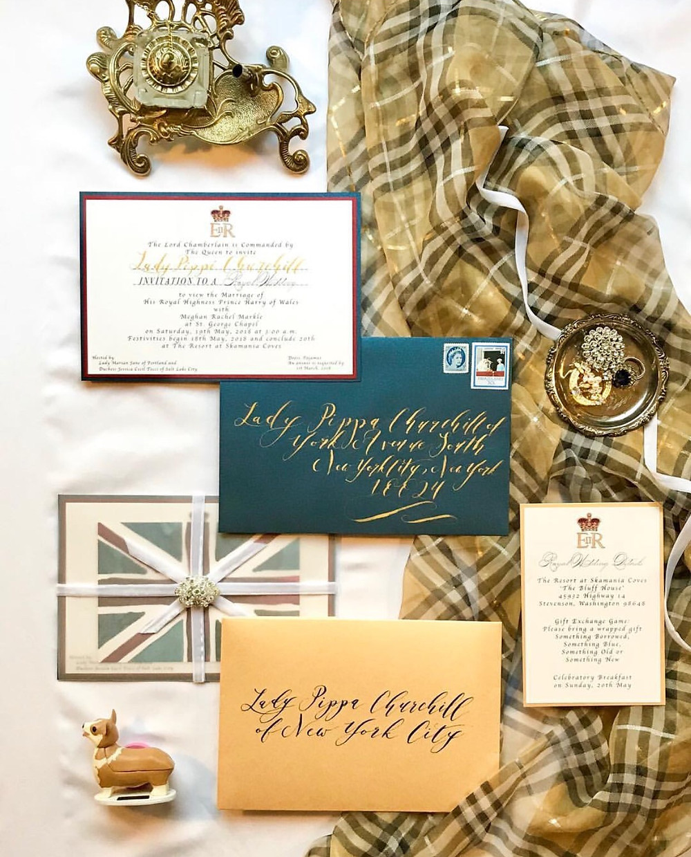 Royal Invitation Suite - Tocci Calligraphy