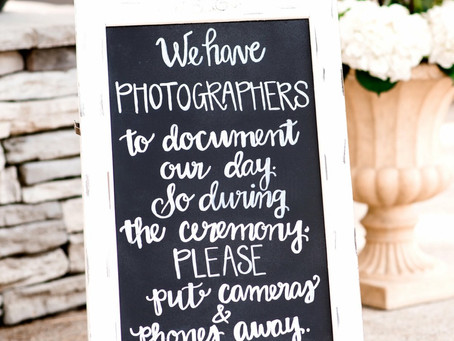 Everybody UNPLUG! Unplugged weddings and why you want one.