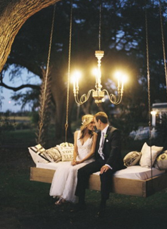 Modern Wedding - Candlelight - Nashville