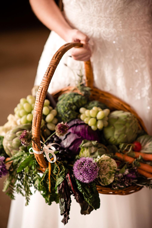 Farm Market Bridal Basket