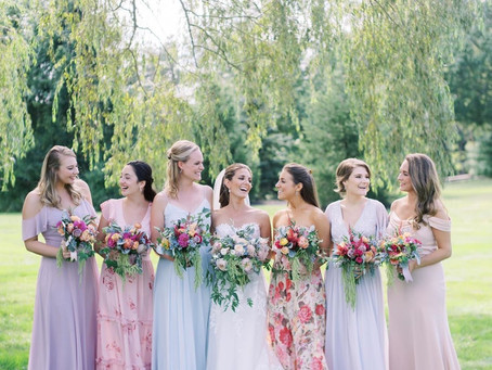 14 Top Tips for the Perfect Mismatched Bridesmaid Dresses