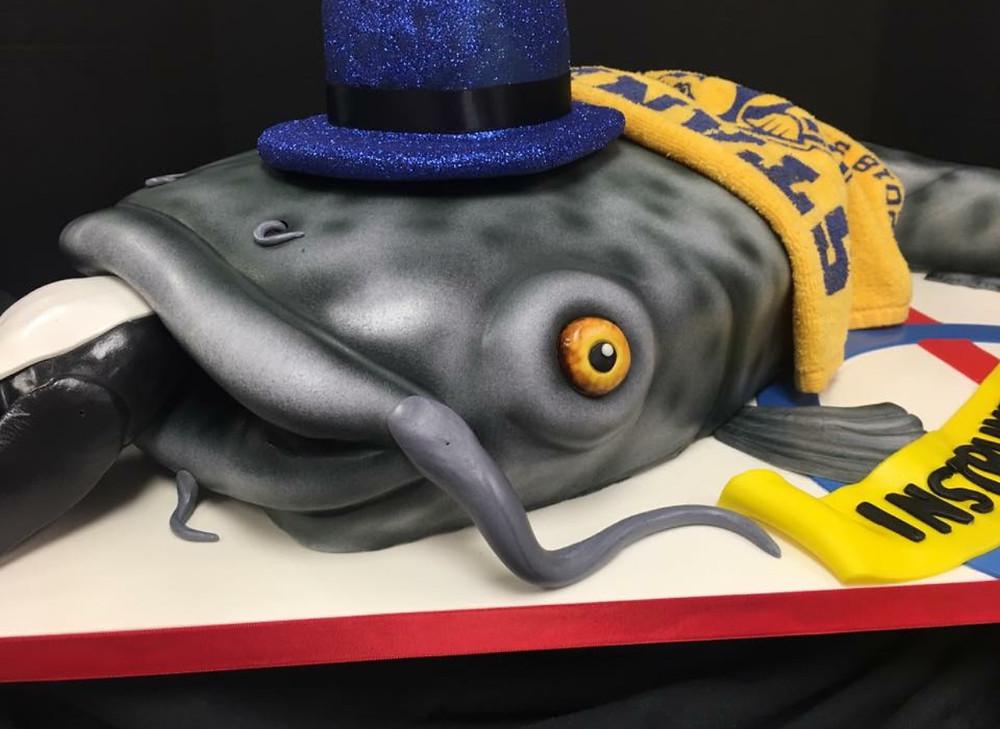 Preds grooms cake