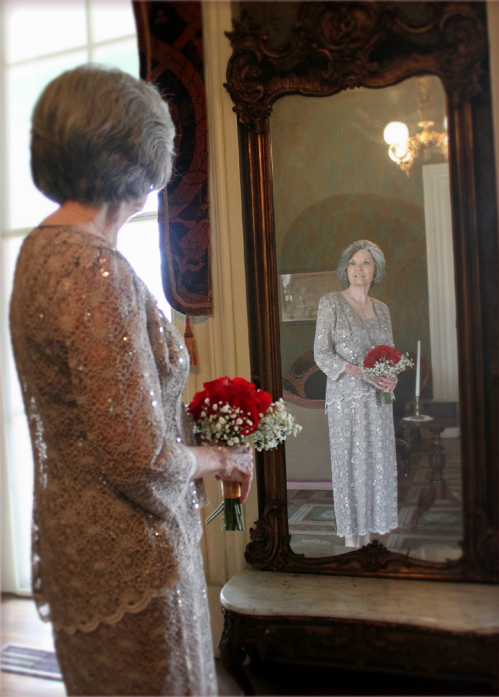 Bride at Oaklands Mansion