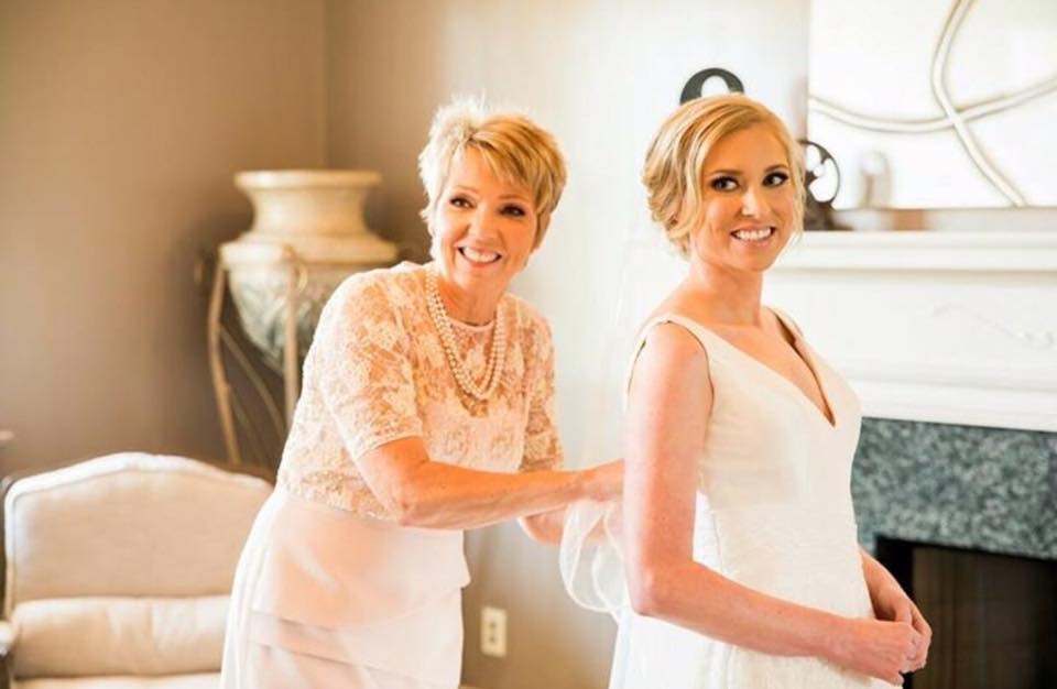 Bride and mother - Emily Lester Photography
