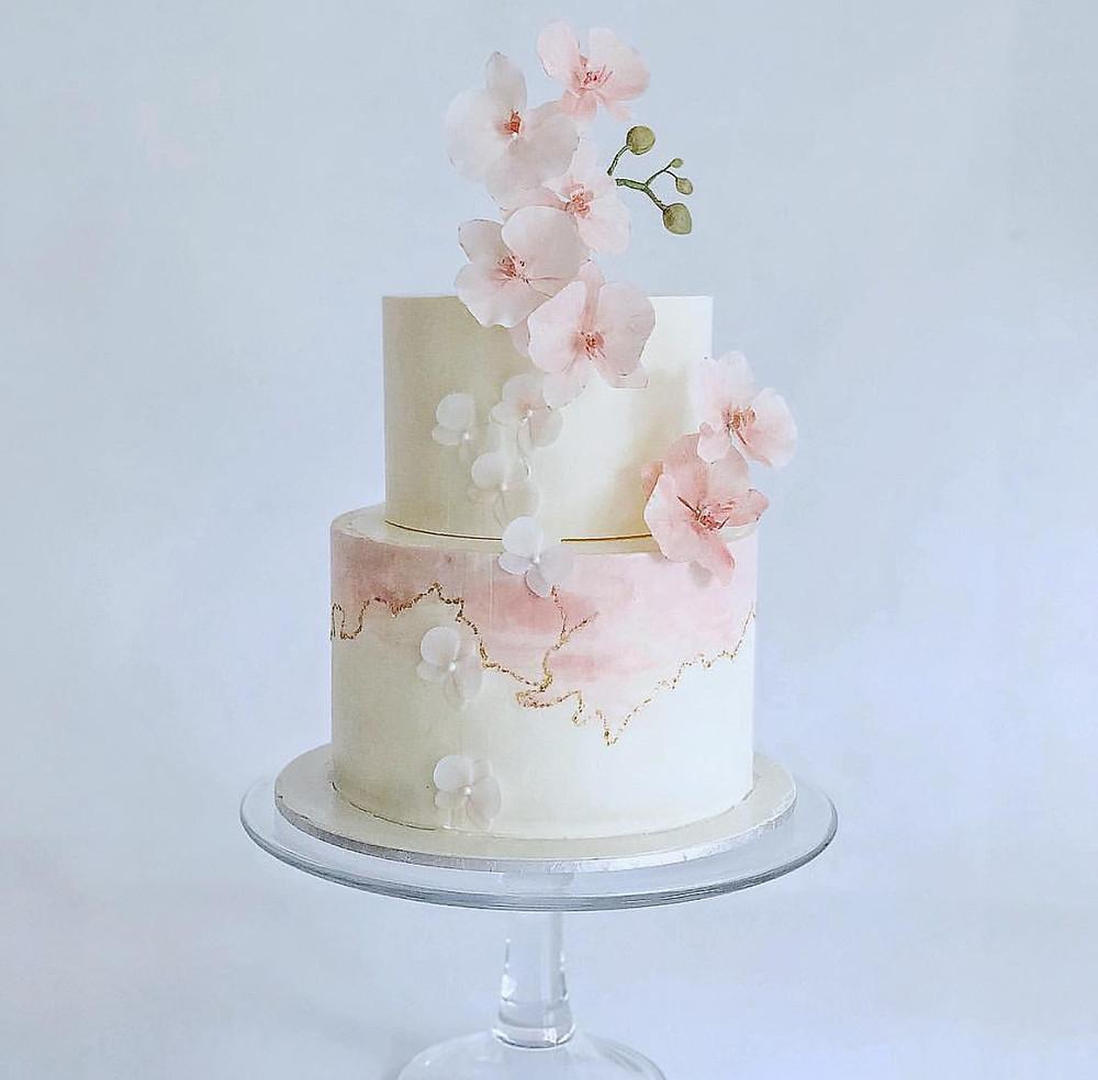 kintsugi cake - MyBakeSoll