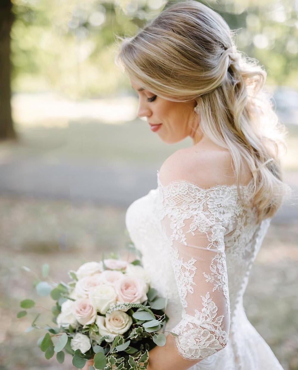 Eden Ingle Photo - Bride in Lace