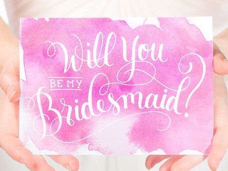 How to (politely) say NO to being a bridesmaid