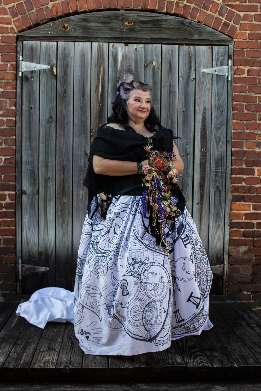 steampunk bride