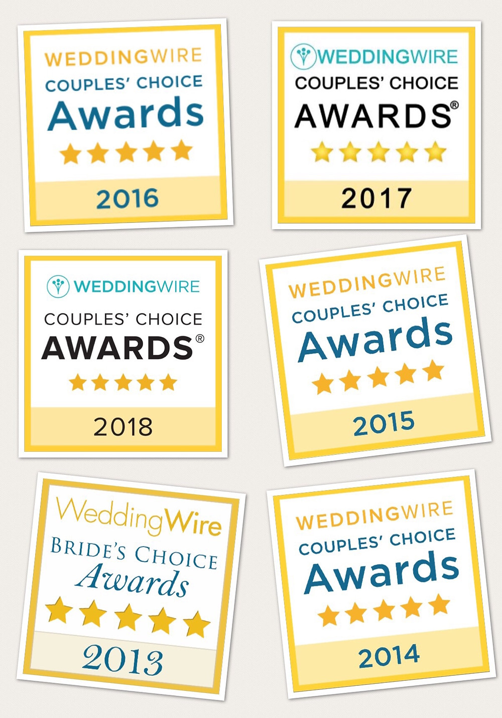 Wedding Wire Couples Choice Awards