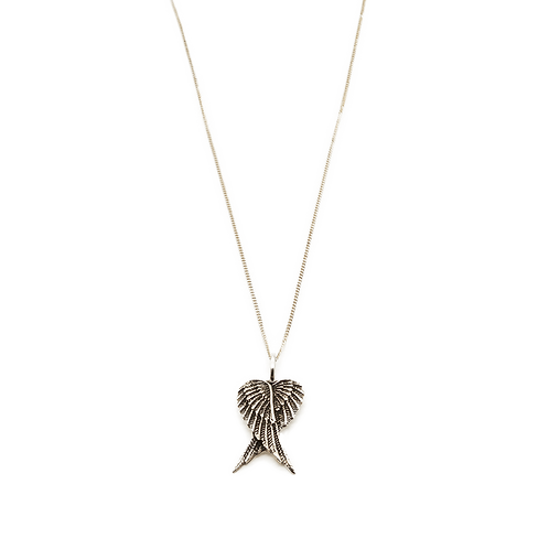 ketting zilver engel vleugel