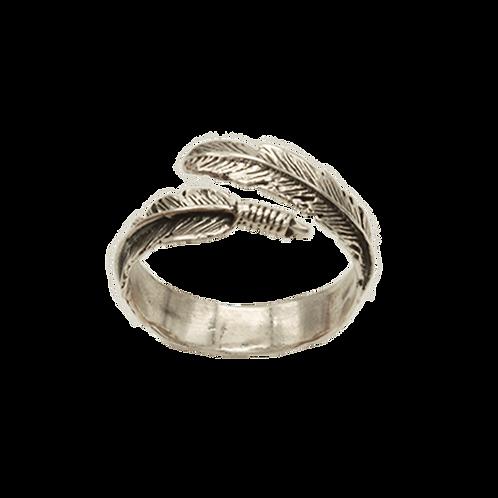 ring zilver veer