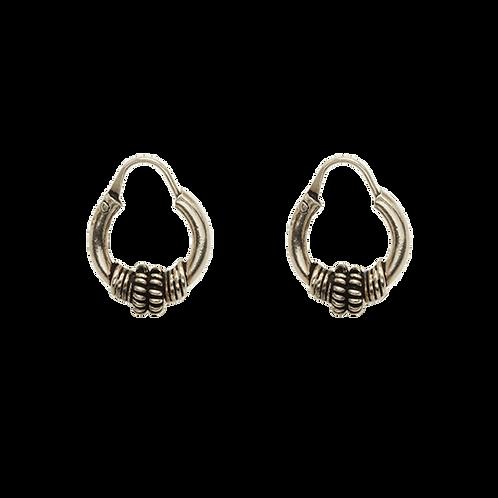 oorbellen zilver hoops