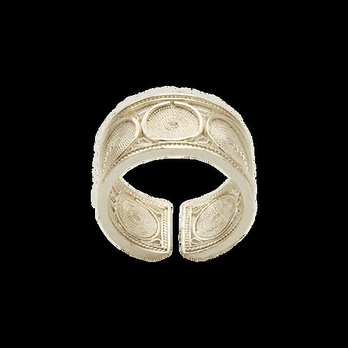 ring zilver filigraan