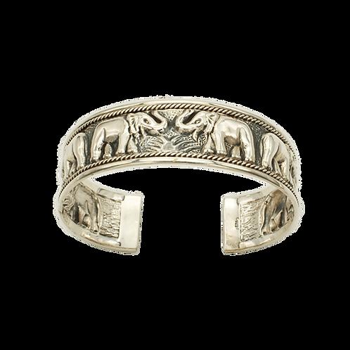 slaven armband zilver olifant