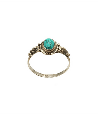 ring zilver turquoise