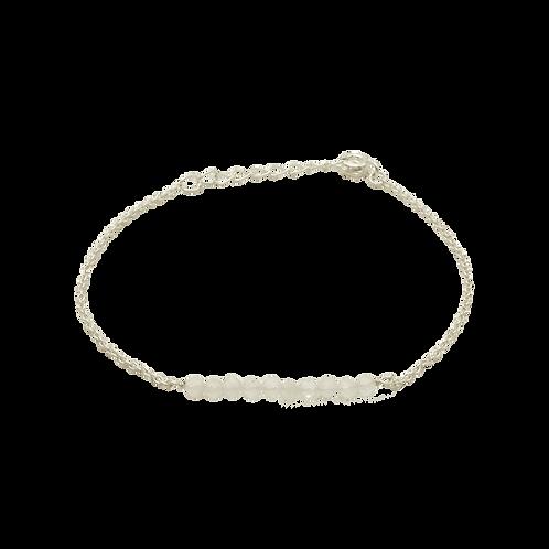 armband zilver maansteen