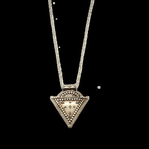 ketting zilver driehoek