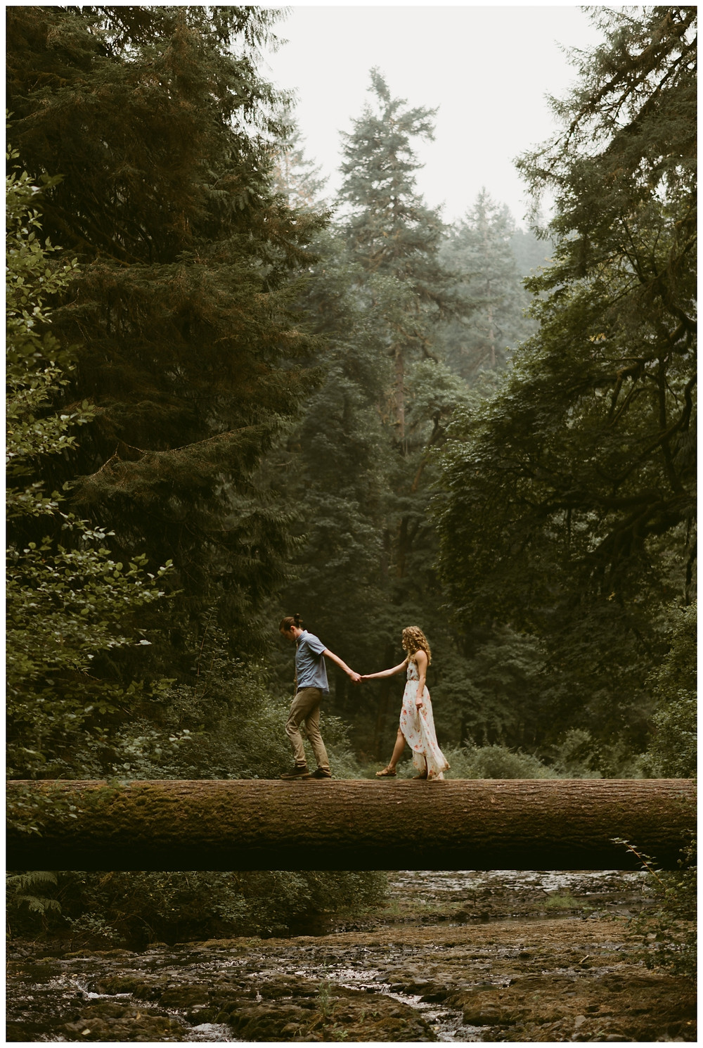 Silver Falls Engagement Shoot by Mountainaire Gatherings