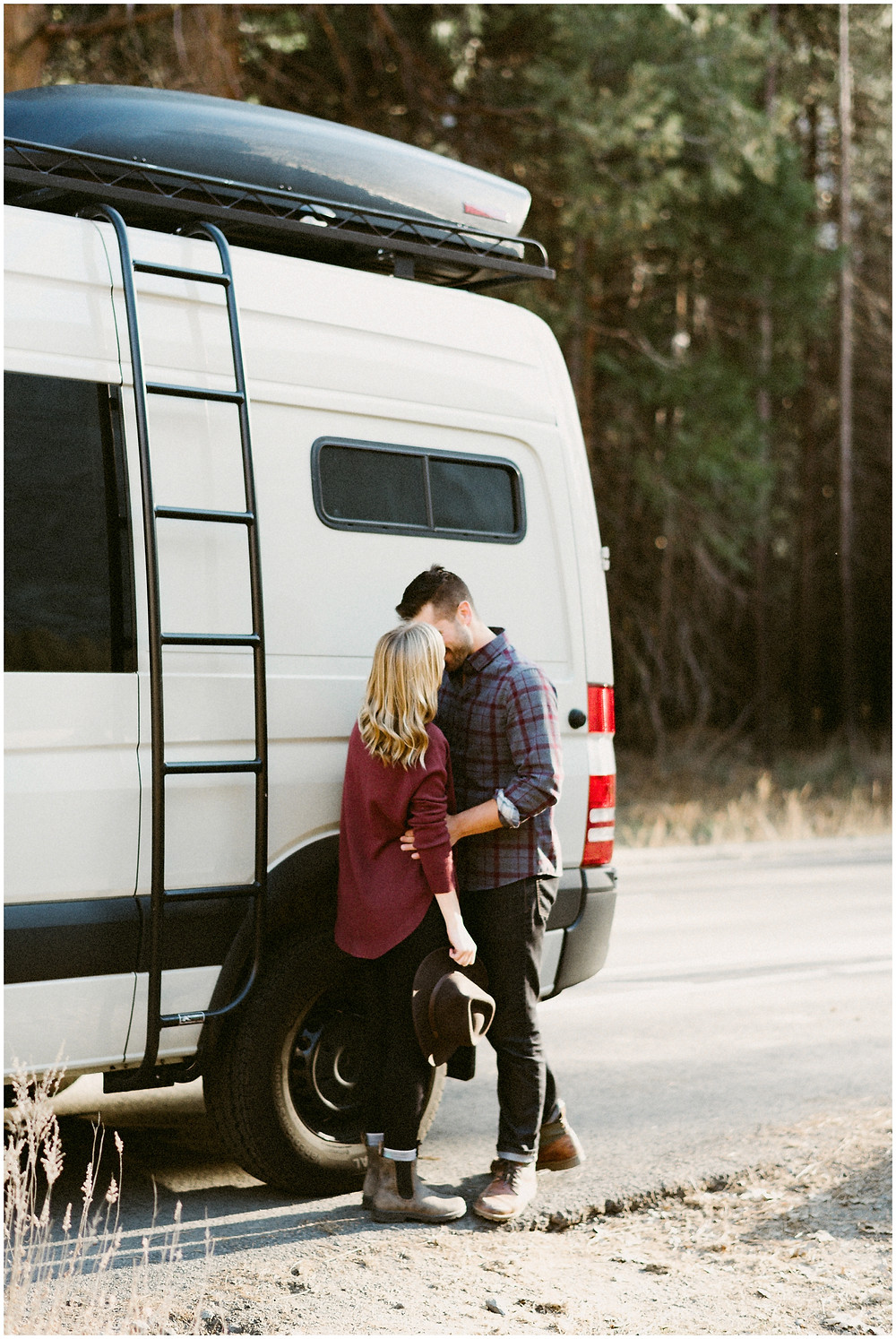 Adventurous engagement photography in Yosemite by Mountainaire Gatherings