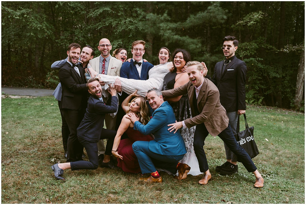 NYC wedding in the catskills