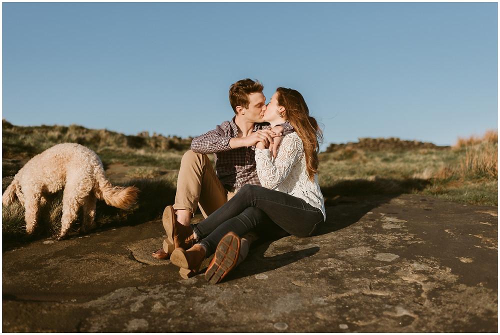 Engagement session in the Peak District of the UK by Mountainaire Gatherings