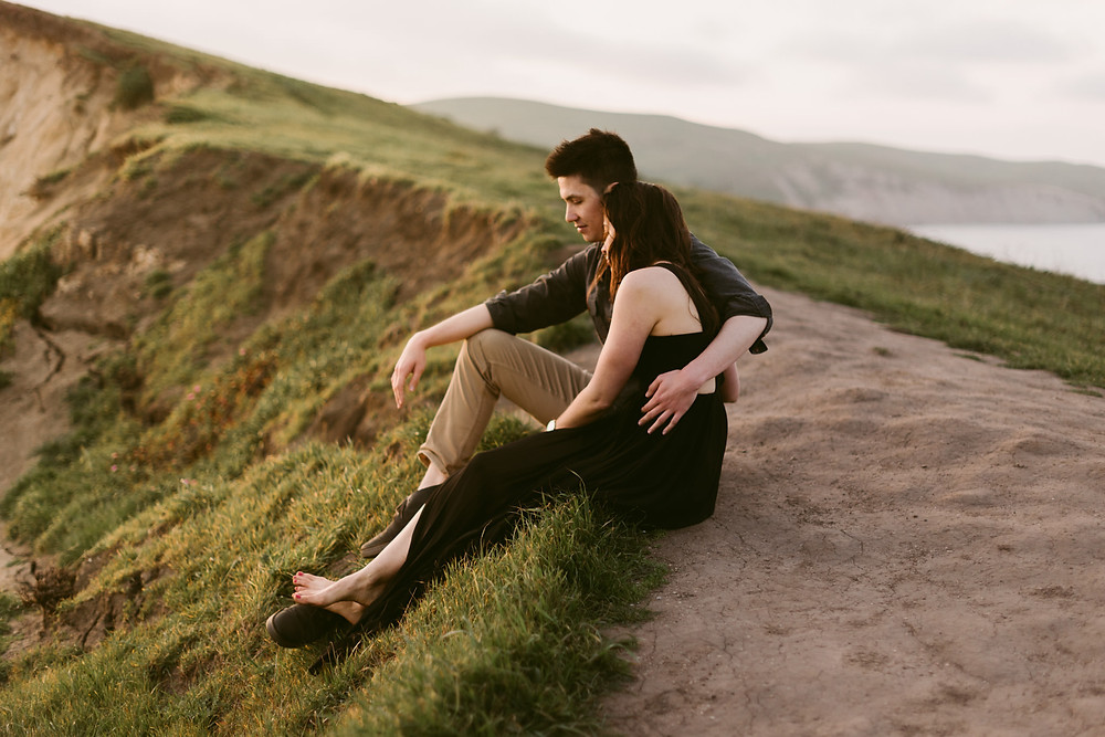 California Engagement Photos at Point Reyes