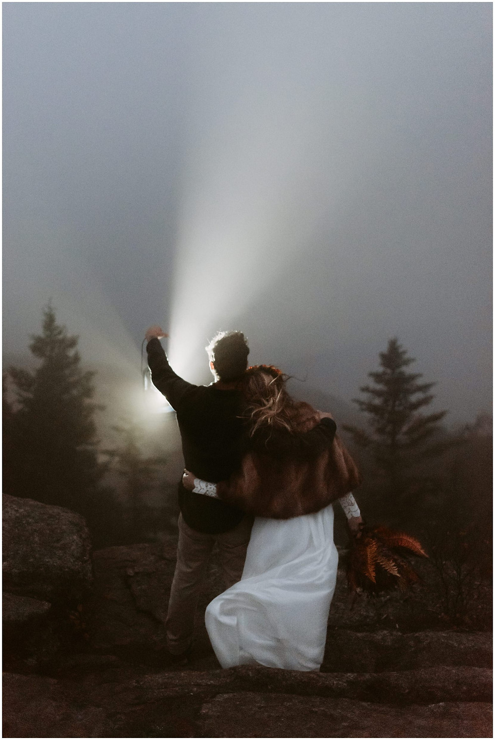 Hiking anniversary photos in Keene, NY by Mountainaire Gatherings