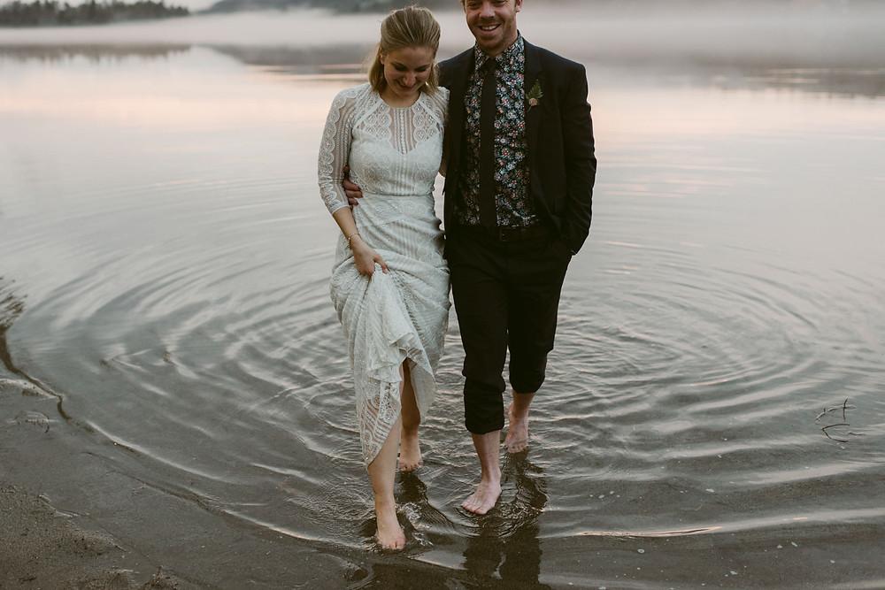 Summer Camp Wedding at Jimbo's Club at the Point, Brant Lake NY