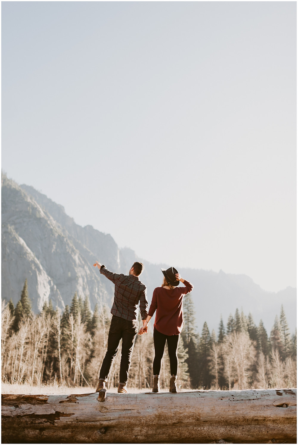 Yosemite engagement photographer for the adventurous by Mountainaire Gatherings