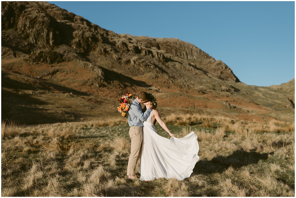 Adventurous elopement photographer in the United Kingdom