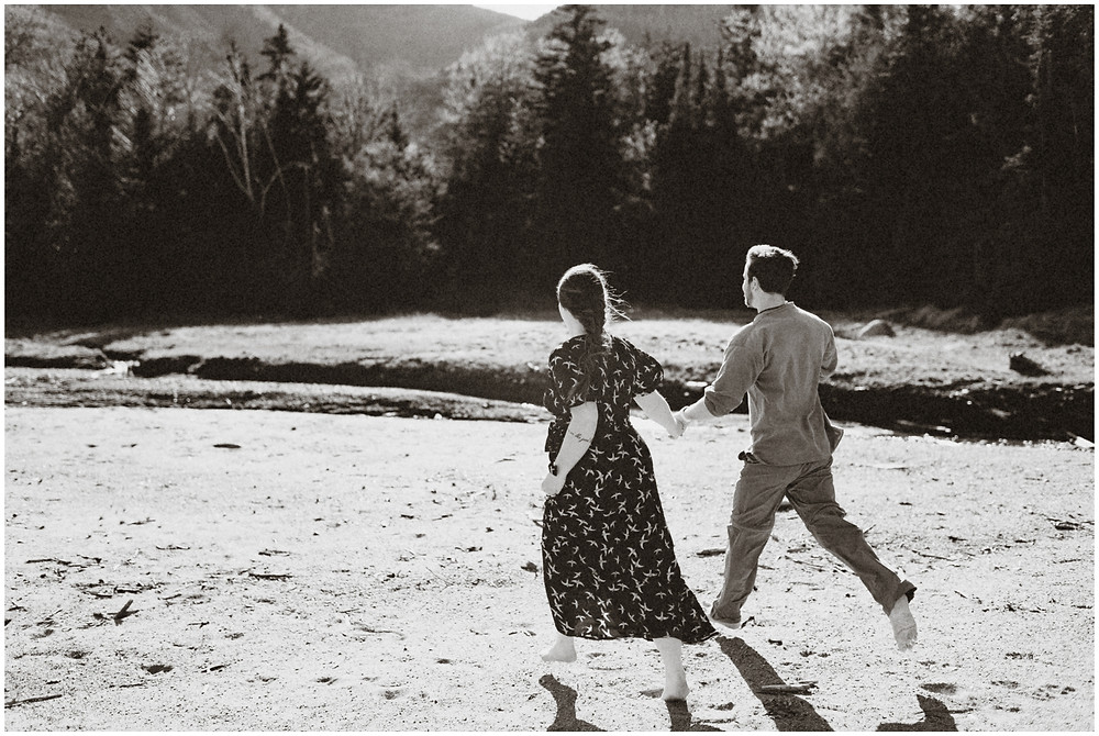 Engagement session in upstate New York by Mountainaire Gatherings