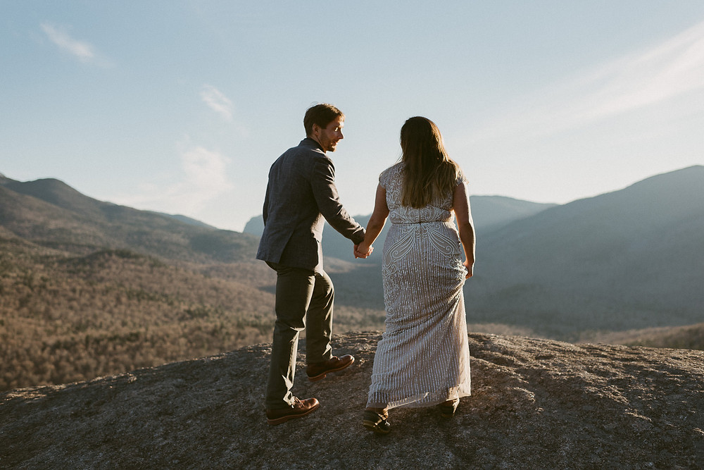 Lake Placid Elopement on Mount Jo | Adirondack Wedding Photographer