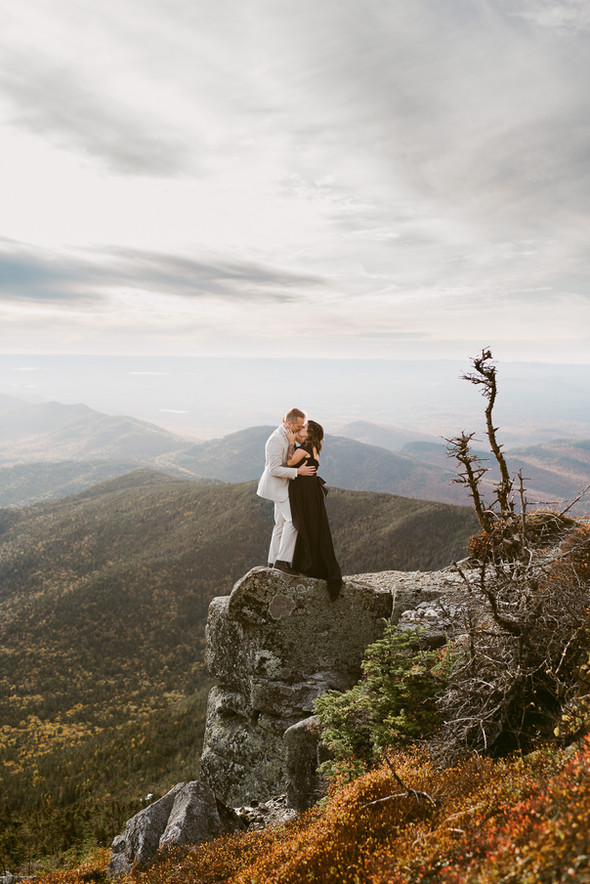 Formal Maternity Session on the summit of Whiteface Mountain in Lake Placid