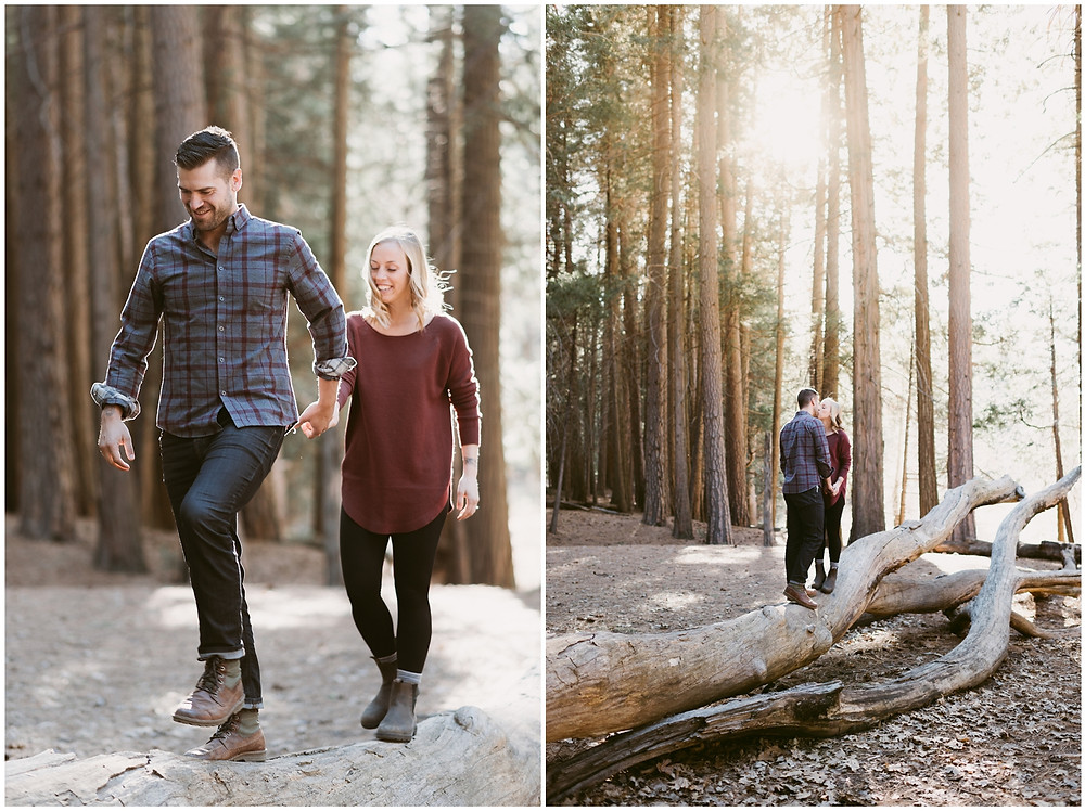 Yosemite wedding and engagement photographer by Mountainaire Gatherings