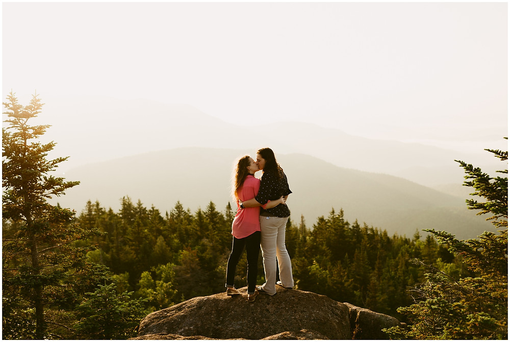 Adventurous Adirondack elopement photographer