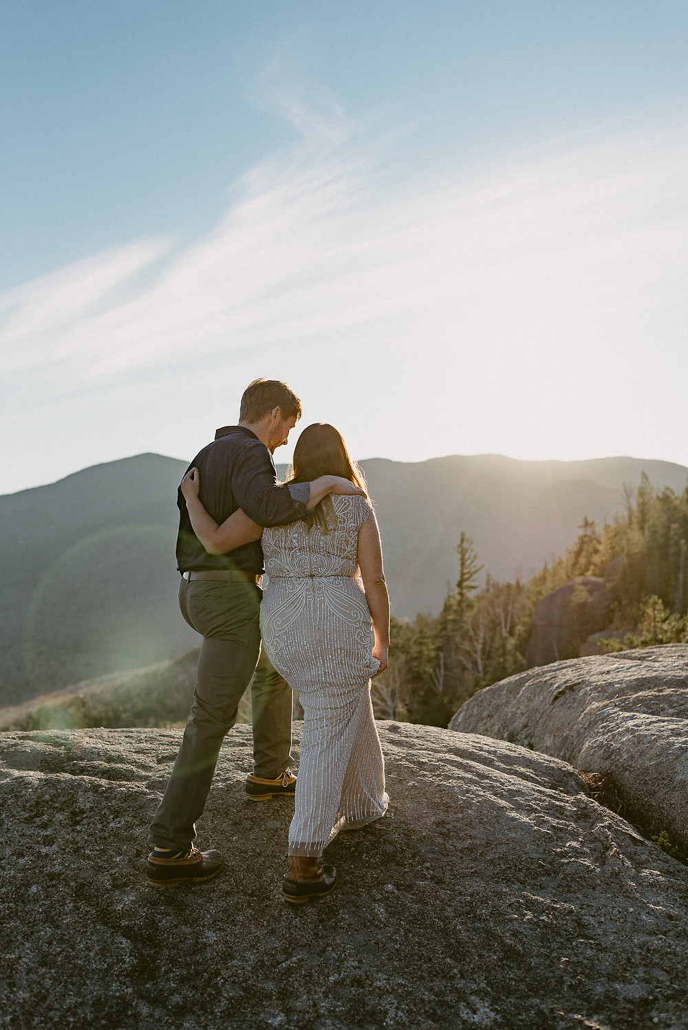 An Adirondack Elopement on Mount Jo | Lake Placid Wedding Photographer