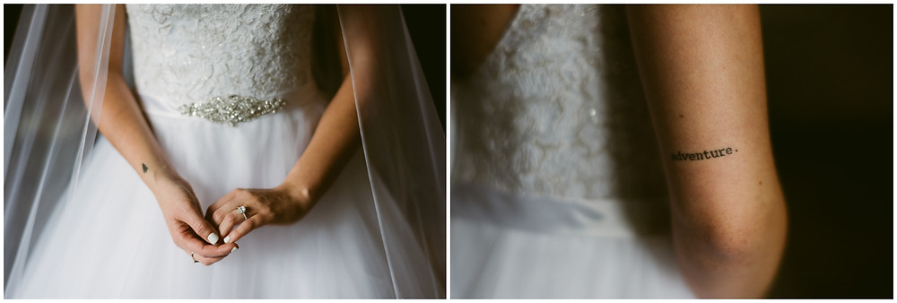 Bridal details by east coast wedding photographer Mountainaire Gatherings