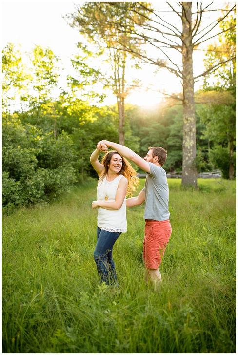 Mollie + Brian : Engagement Session