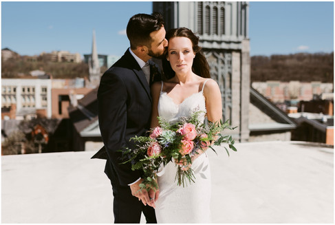 Urban Wedding at the Takk House in Troy, NY