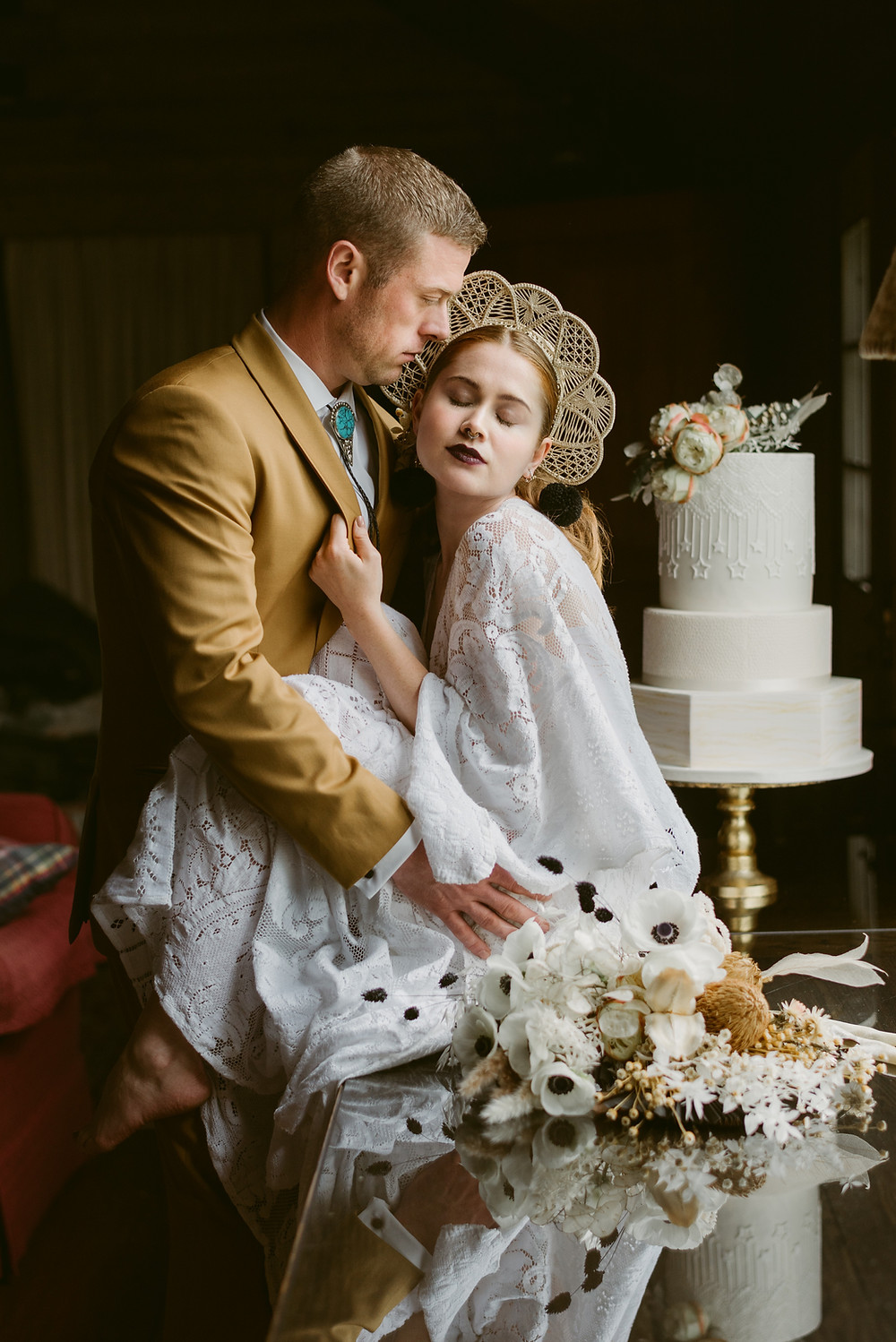 Lake Placid wedding photos at River Ranch by Mountainaire Gatherings