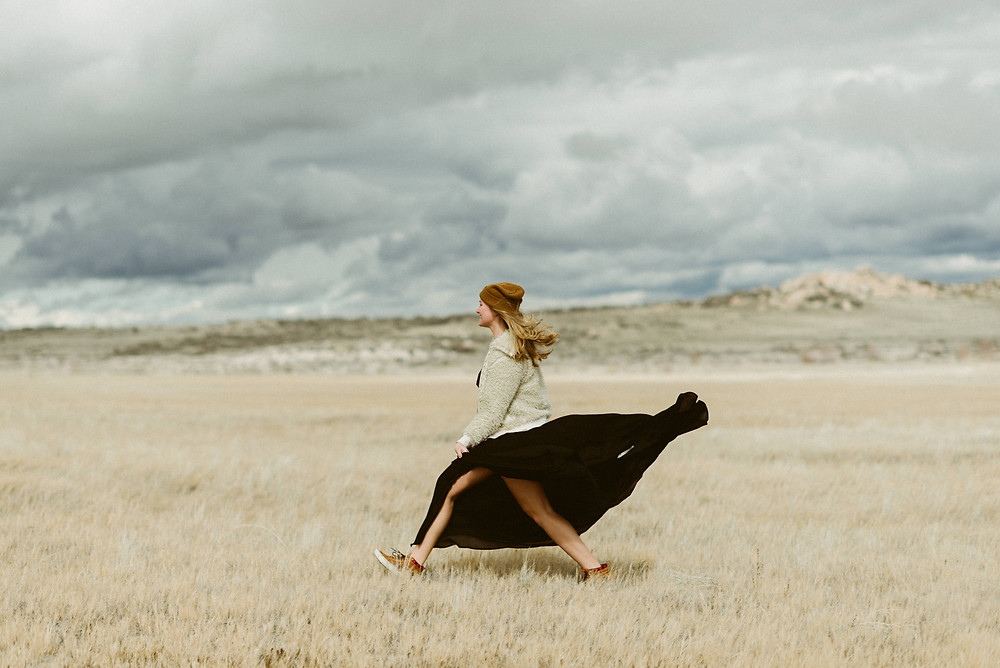 Bohemian Outdoor Portrait Session on Antelope Island | Utah Wedding & Elopement Photographer