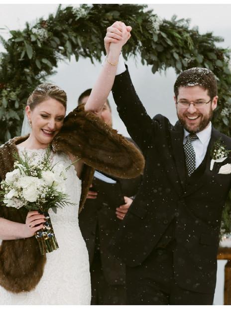 Winter Wonderland Wedding in Lake Placid