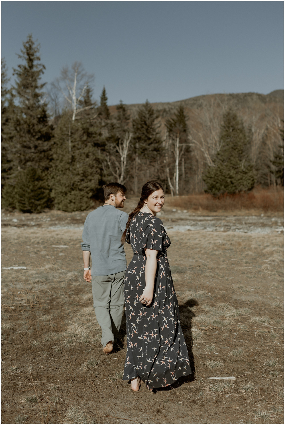 Boho engagement session in the mountains by Mountainaire Gatherings