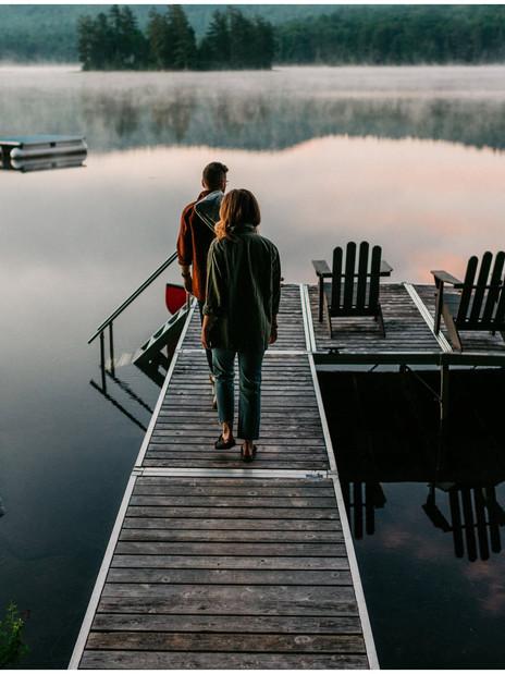 Cozy Cabin Session   The North Pine Cabin, Whittaker Lake   Adirondack Wedding Photographer