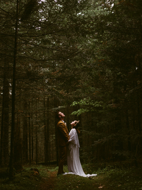 Bohemian Styled Elopement at The River Ranch in Lake Placid, NY | ADK Elopement Photographer
