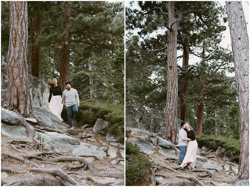 Adventurous elopement photographer in California
