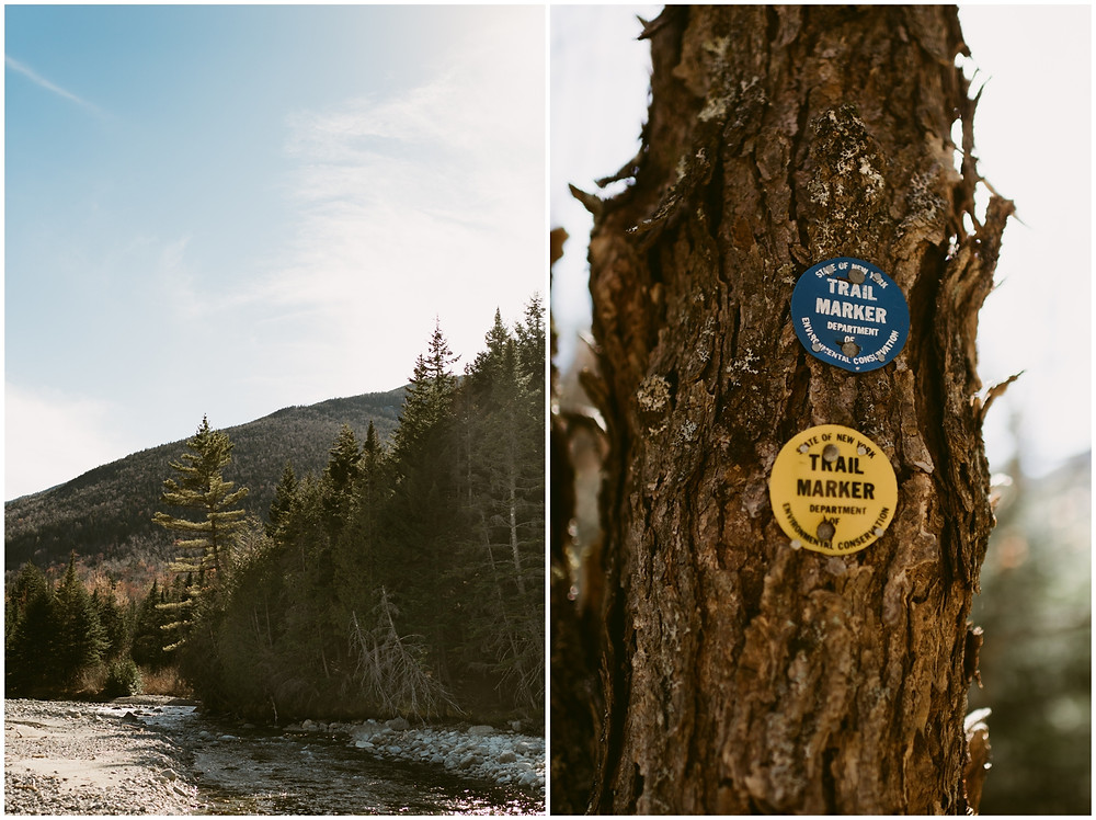 Outdoor engagement session in the high peaks by Mountainaire Gatherings