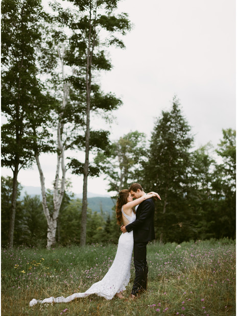 Outdoor Wedding at the Lake Placid Olympic Sports Complex   Hudson Valley Wedding Photographer